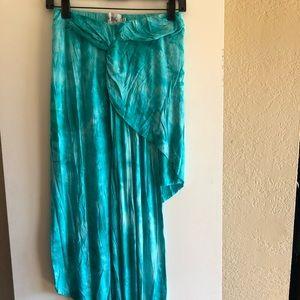 Blue Long Everyday Skirt